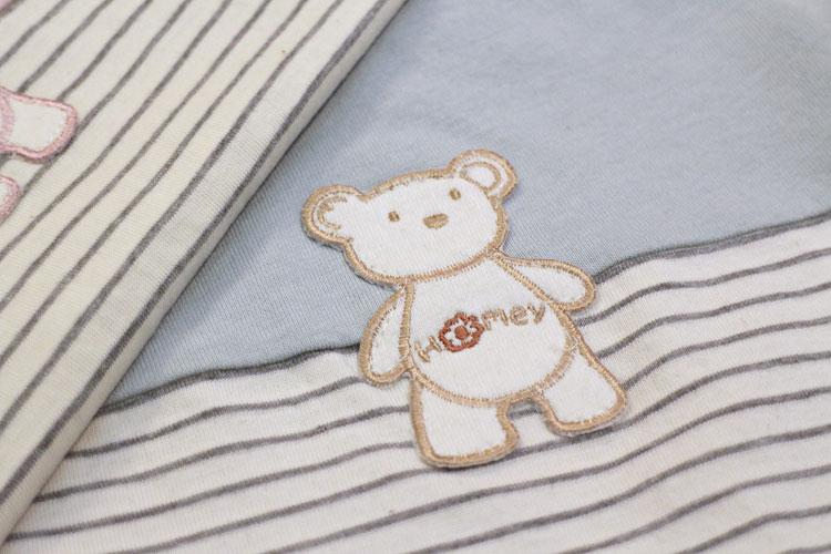 有機棉胖胖熊連身服