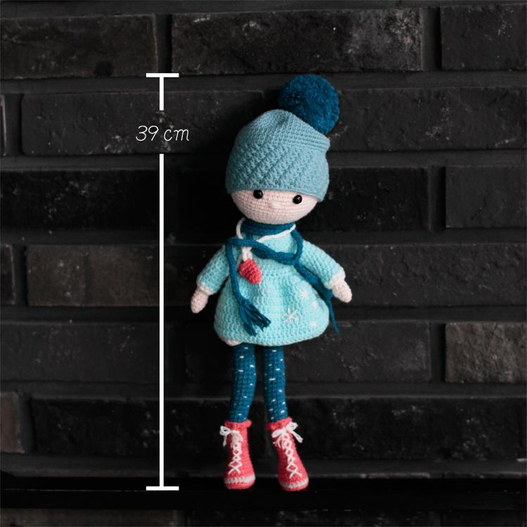 BD有機棉編織‧暖暖女孩